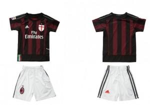 Camiseta nueva del AC Milan 2015/2016