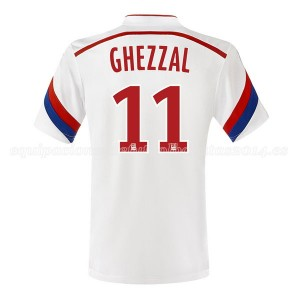Camiseta nueva Lyon Ghezzal Primera 2014/2015