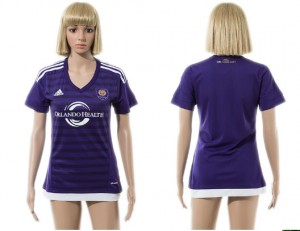 Camiseta Orlando City SC 2015/2016 Mujer