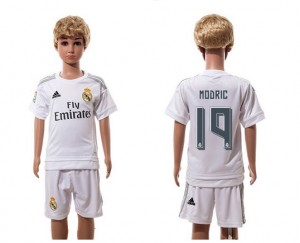 Camiseta Real Madrid 19 Home 2015/2016 Niños