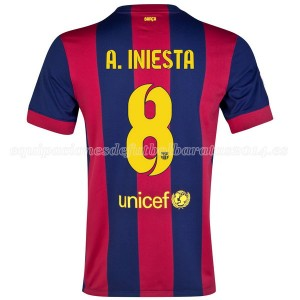 Camiseta del A.Iniesta Barcelona Primera 2014/2015