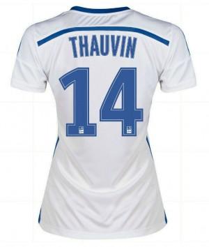 Camiseta España de la Seleccion Xavi Primera 2013