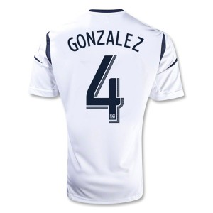 Camiseta de Los Angeles Galaxy 2013/2014 Primera Gonzalez