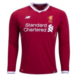 Camiseta nueva del Liverpool 2017/2018 Long Sleeve Home