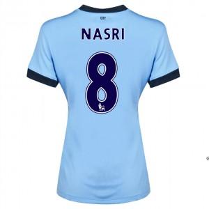 Camiseta Manchester City Dzeko Segunda 2014/2015