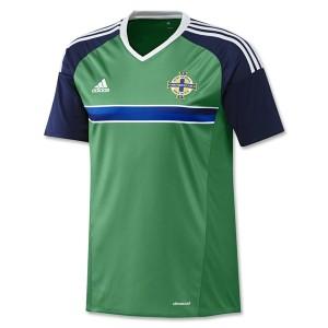 Camiseta nueva Irlanda del Norte 2016/2017