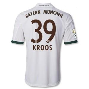 Camiseta Bayern Munich Kroos Tercera Equipacion 2013/2014
