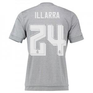 Camiseta nueva del Real Madrid 2015/2016 Equipacion Numero 24 ILLA Segunda