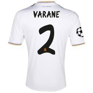 Camiseta de Real Madrid 2013/2014 Primera Varane Equipacion