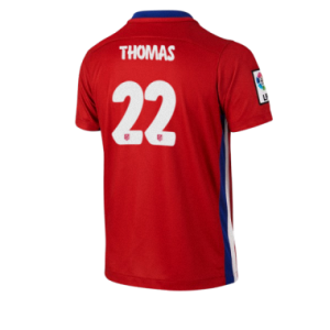 Camiseta Atletico Madrid THOMAS Primera Equipacion 2015/2016