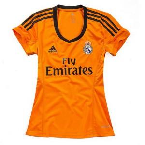 Camiseta nueva del Real Madrid 2013/2014 Equipacion Mujer Tercera