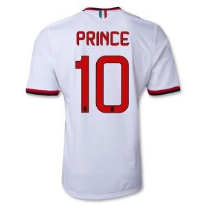 Camiseta nueva del AC Milan 2013/2014 Equipacion Prince Segunda