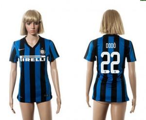Camiseta nueva del Inter Milan 2015/2016 22 Mujer