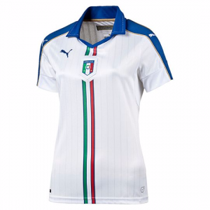 Mujer Camiseta del VISITANTE ITALIA REPLICA