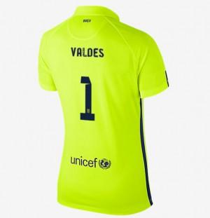 Camiseta Portero nueva del Barcelona 2013/2014 2a