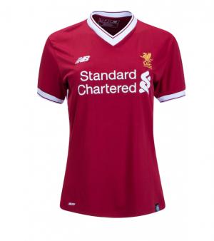 Camiseta Liverpool Primera Equipacion 2017/2018 Mujer
