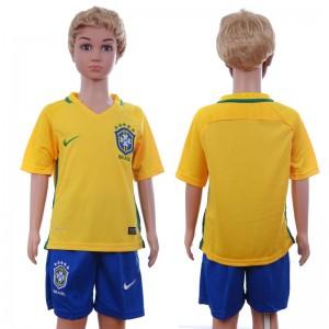 Niños Camiseta del Brasil 2016/2017