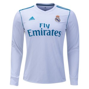 Camiseta del Real Madrid Home Long Sleeve 2017/2018