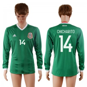 Camiseta del 14# Mexico 2016-2017