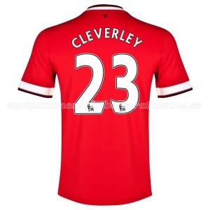 Camiseta nueva del Manchester United 2014/2015 Cleverley Primera