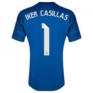 Camiseta Portero Real Madrid Iker Casillas 20 Primera Equipacion