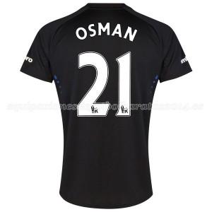 Camiseta nueva del Everton 2014-2015 Osman 2a