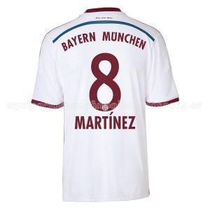 Camiseta del Martinez Bayern Munich Segunda Equipacion 2014/2015