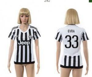 Camiseta nueva del Juventus 2015/2016 33 Mujer