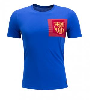 Camiseta nueva Barcelona bolsillo 2017/2018