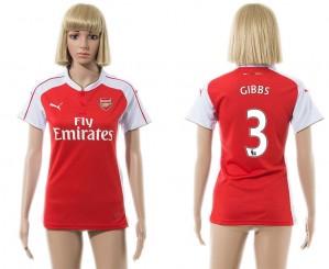 Camiseta nueva del Arsenal 2015/2016 3 Mujer