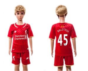 Camiseta nueva Liverpool Niños 45 2015/2016
