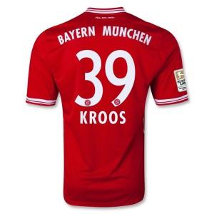 Camiseta nueva Bayern Munich Kroos Equipacion Primera 2013/2014