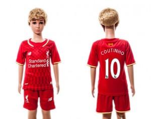 Camiseta de Liverpool 2015/2016 10 Niños