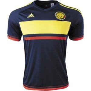 Camiseta nueva Colombia Away 2016