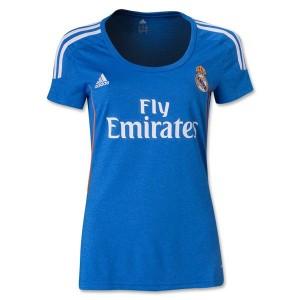 Camiseta Real Madrid Segunda Equipacion 2013/2014 Mujer