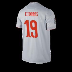 Camiseta nueva del Atletico Madrid 2014/2015 Equipacion TORRES Segunda