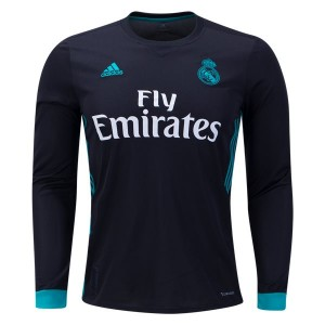 Camiseta del Real Madrid Away Long Sleeve 2017/2018