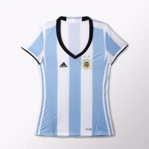 Camiseta nueva Argentina Mujer Home 2016