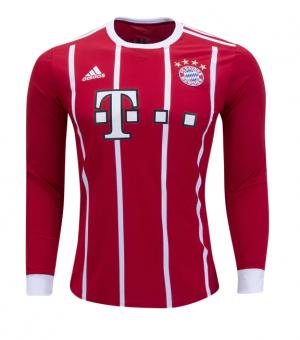 Camiseta Bayern Munich Mangas largas 2017/2018 Juventud