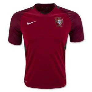 Camiseta del Portugal Primera Equipacion 2016