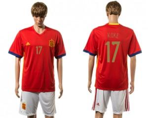 Camiseta nueva España 17# 2015-2016