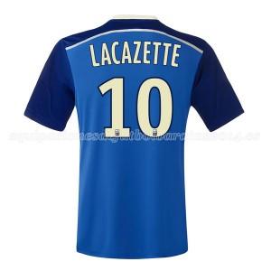 Camiseta Lyon Lacazette Segunda 2014/2015