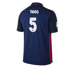 Camiseta nueva Atletico Madrid TIAGO Equipacion Segunda 2015/2016