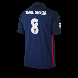 Camiseta Atletico Madrid RAUL GARCIA Segunda Equipacion 2015/2016