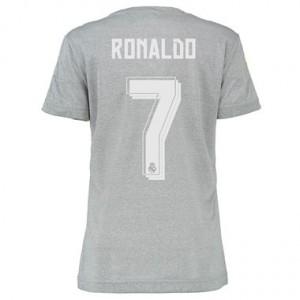 Camiseta de Real Madrid 2015/2016 Segunda RONALDO Equipacion Mujer