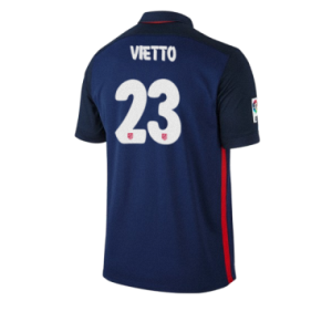 Camiseta del VIETTO Atletico Madrid Segunda Equipacion 2015/2016