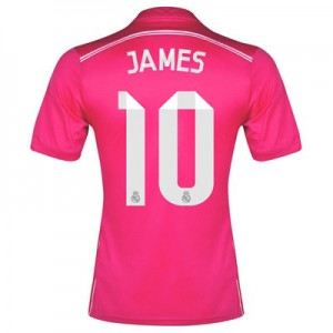 Camiseta nueva Real Madrid James Equipacion Segunda 2014/2015