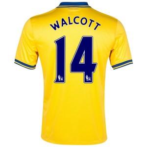 Camiseta Inglaterra de la Seleccion Walcott Segunda 2013/2014