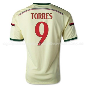 Camiseta AC Milan Torres Tercera Equipacion 2014/2015