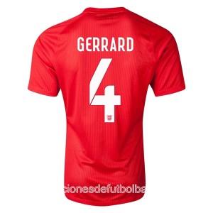 Camiseta nueva Inglaterra de la Seleccion Gerrard Segunda WC2014